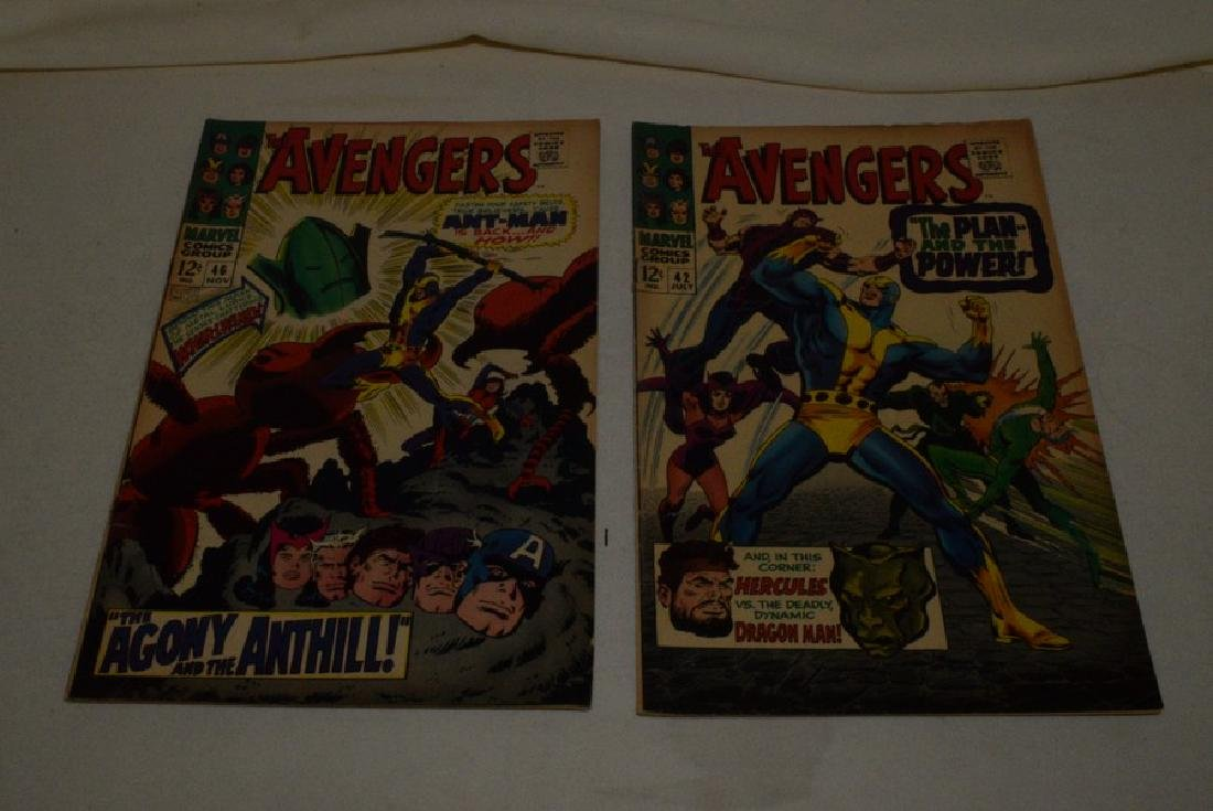THE AVENGERS COMIC BOOKS BY MARVEL - 6