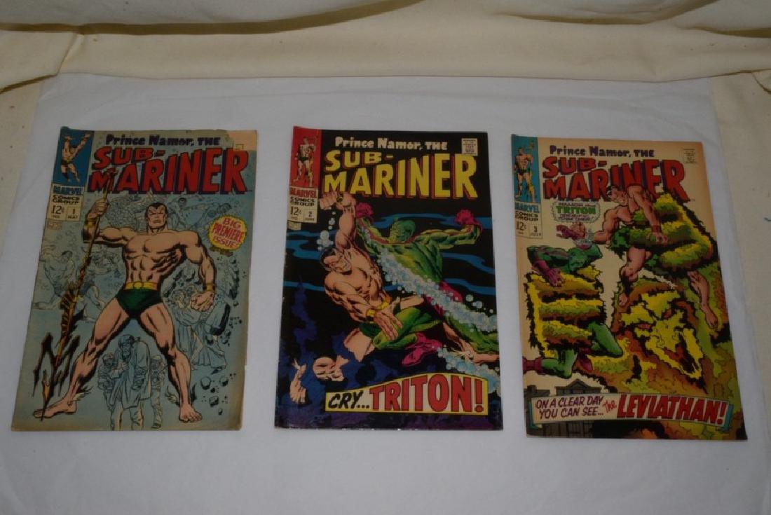 1968 SUB-MARINER COMIC BOOKS - 2