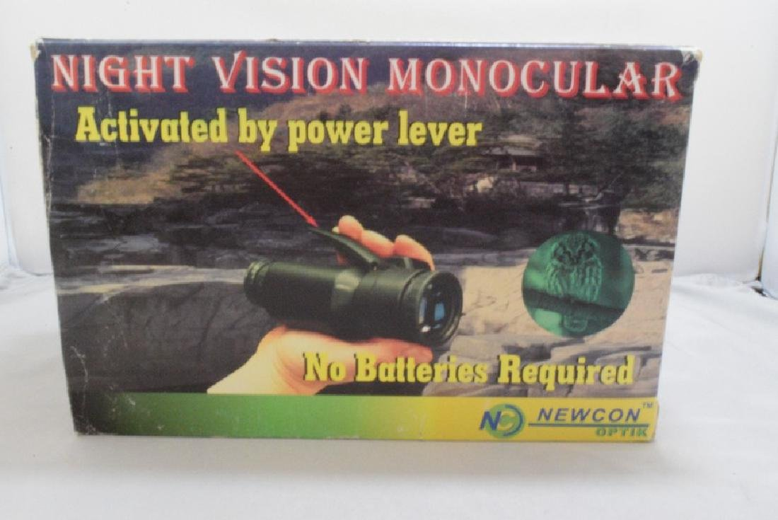 NEWCON OPTIK NIGHT VISION MONOCULAR - STARGATE 150