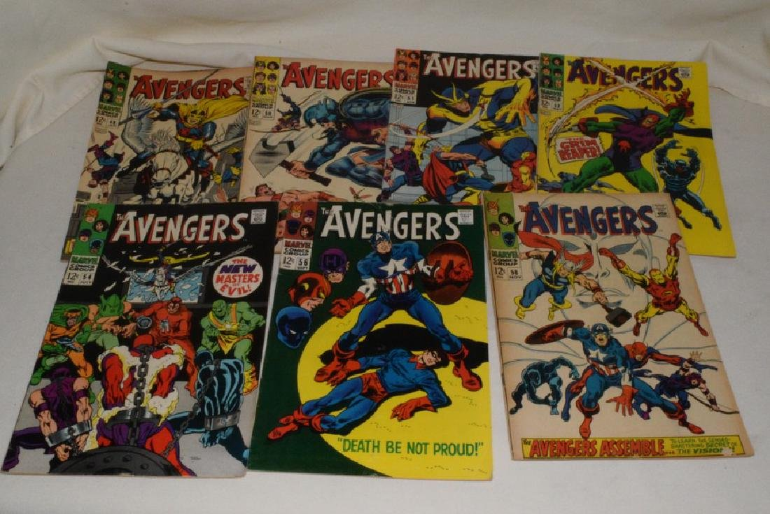 1968 MARVEL COMICS THE AVENGERS