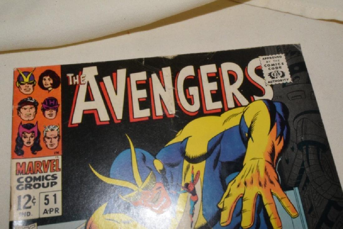 1968 MARVEL COMICS THE AVENGERS - 3