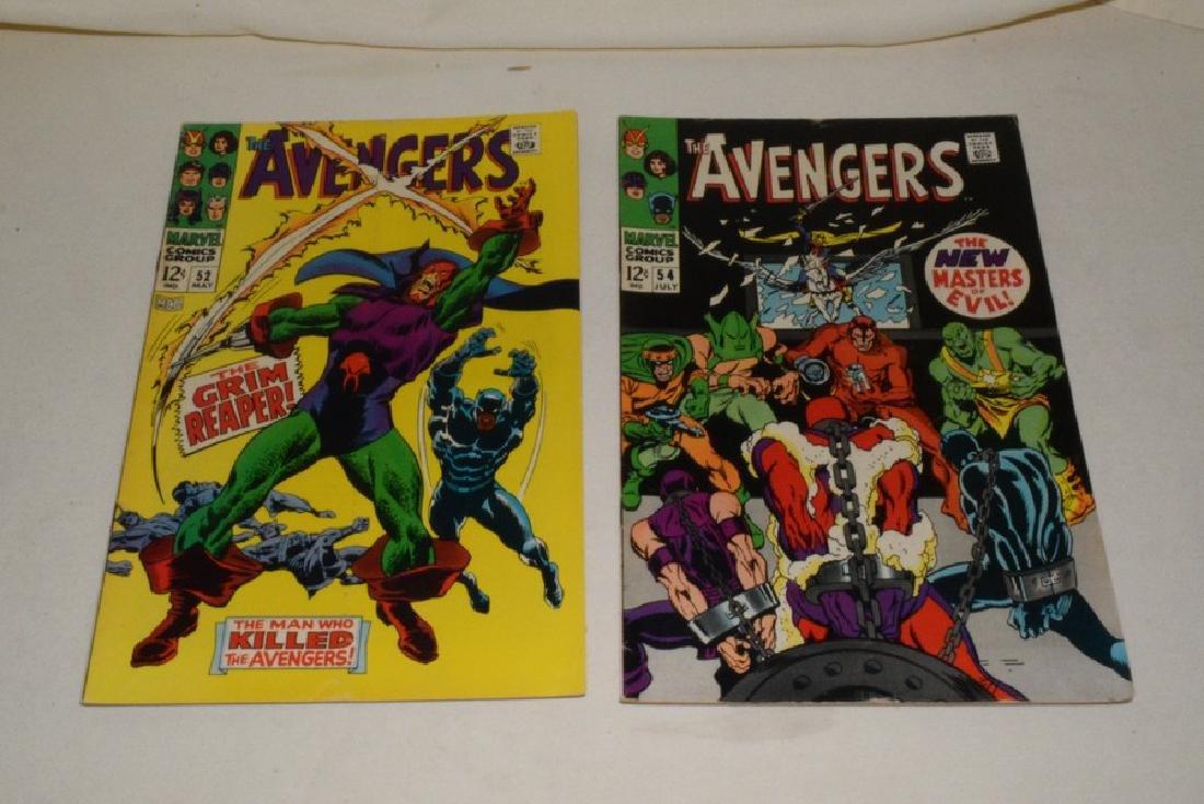 1968 MARVEL COMICS THE AVENGERS - 5