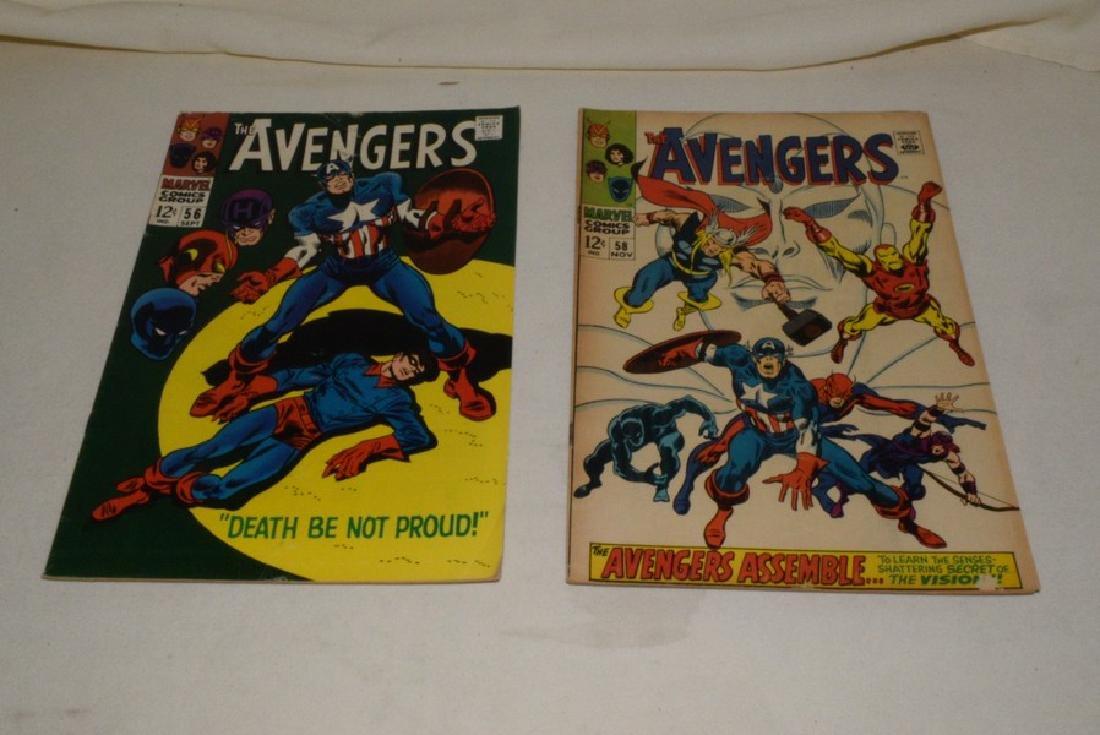 1968 MARVEL COMICS THE AVENGERS - 7