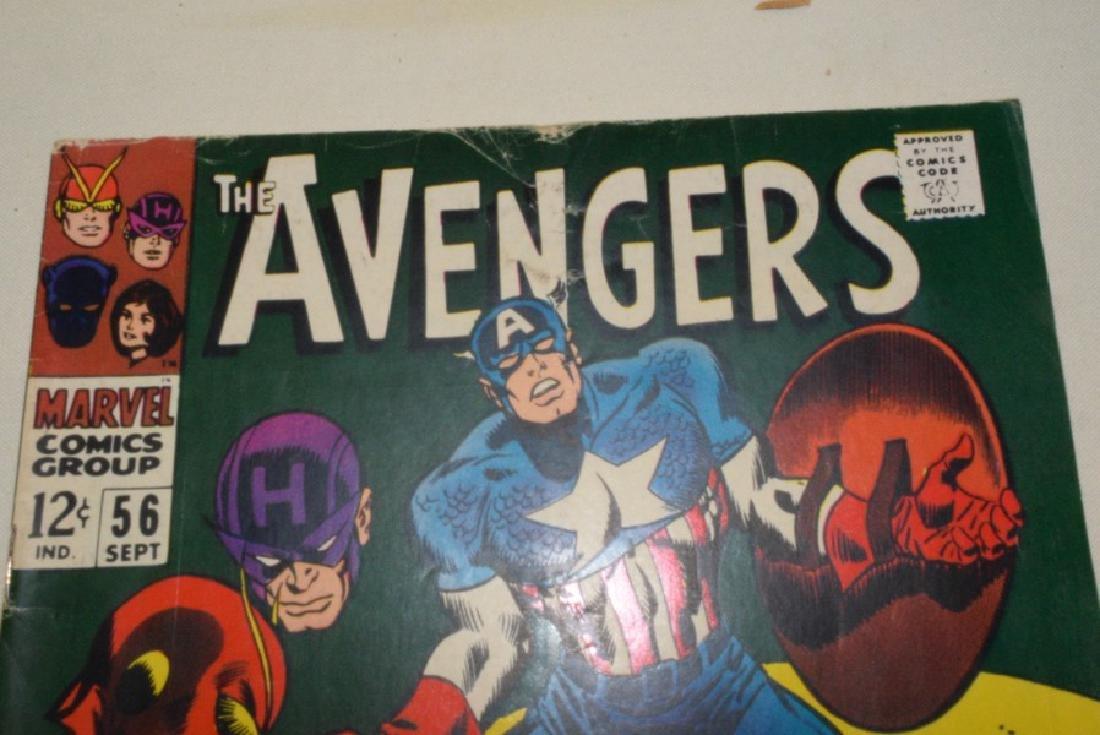 1968 MARVEL COMICS THE AVENGERS - 8