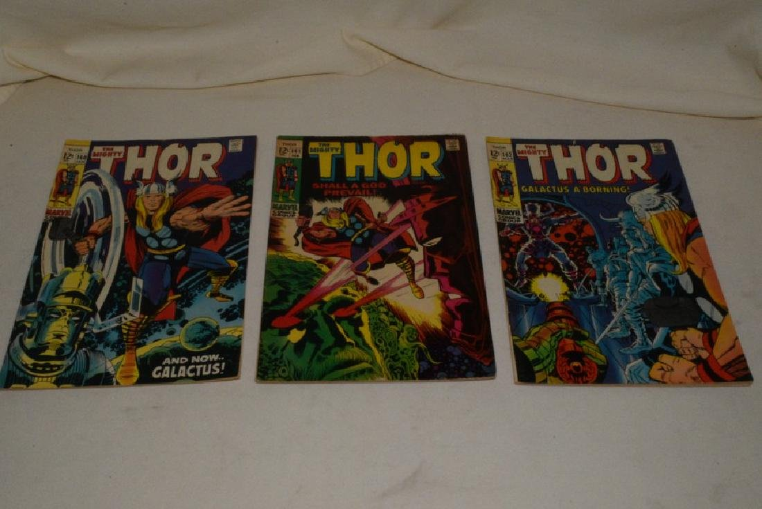 1969 THE MIGHT THOR COMIC BOOKS - 2