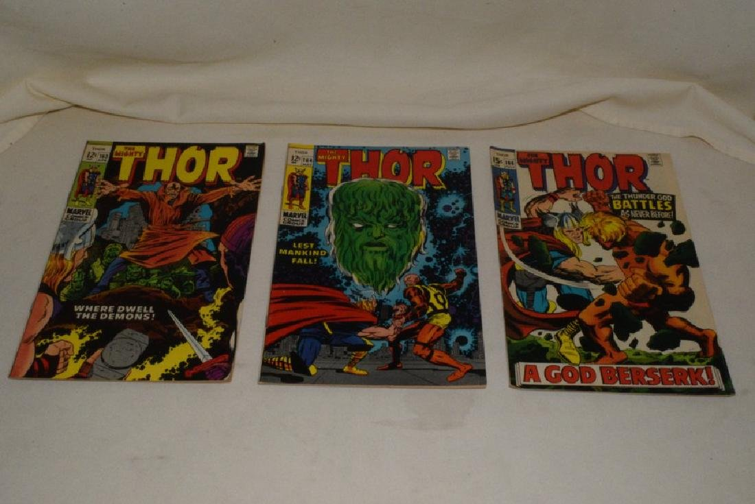 1969 THE MIGHT THOR COMIC BOOKS - 5