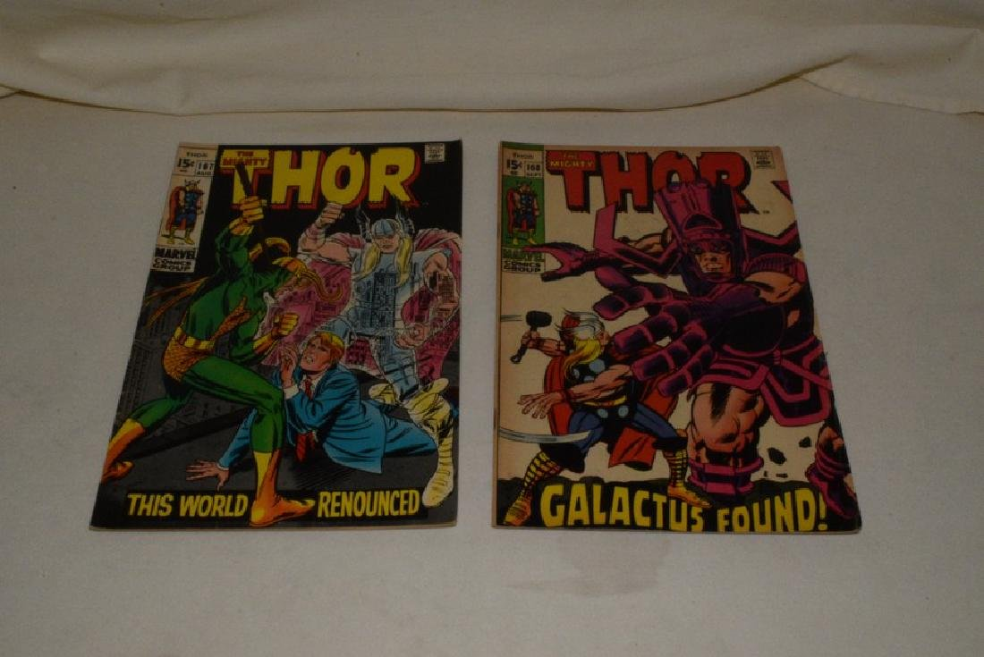 1969 THE MIGHT THOR COMIC BOOKS - 7