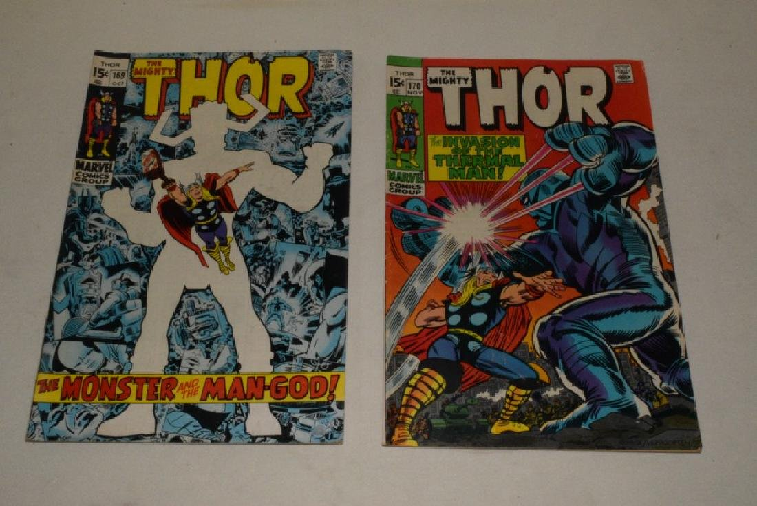 1969 THE MIGHT THOR COMIC BOOKS - 9