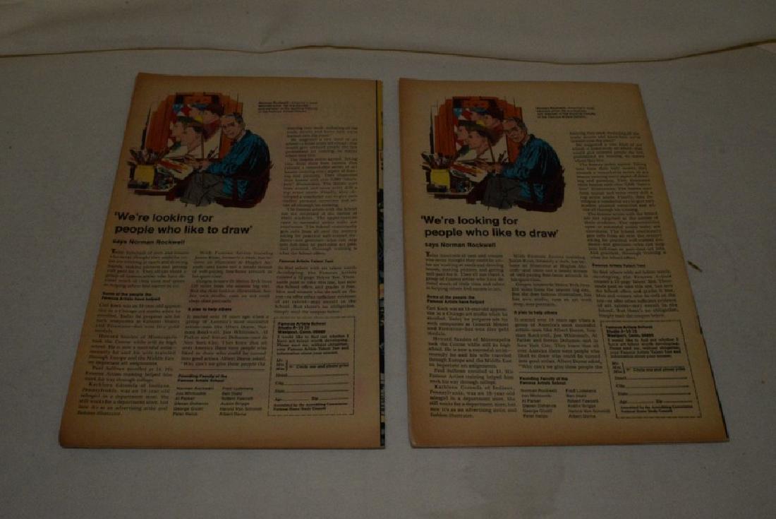 4 VINTAGE CAPTAIN AMERICA COMIC BOOKS - 5