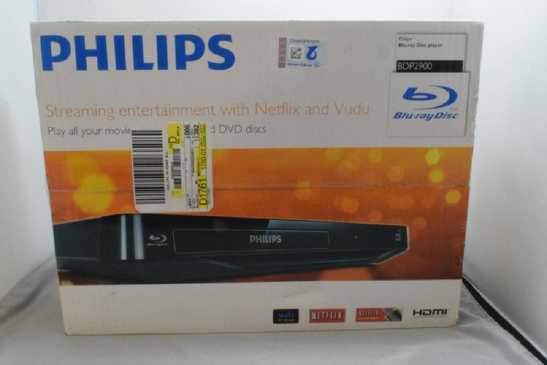 NIB PHILIPS BDP2900 BLU-RAY DISC PLAYER