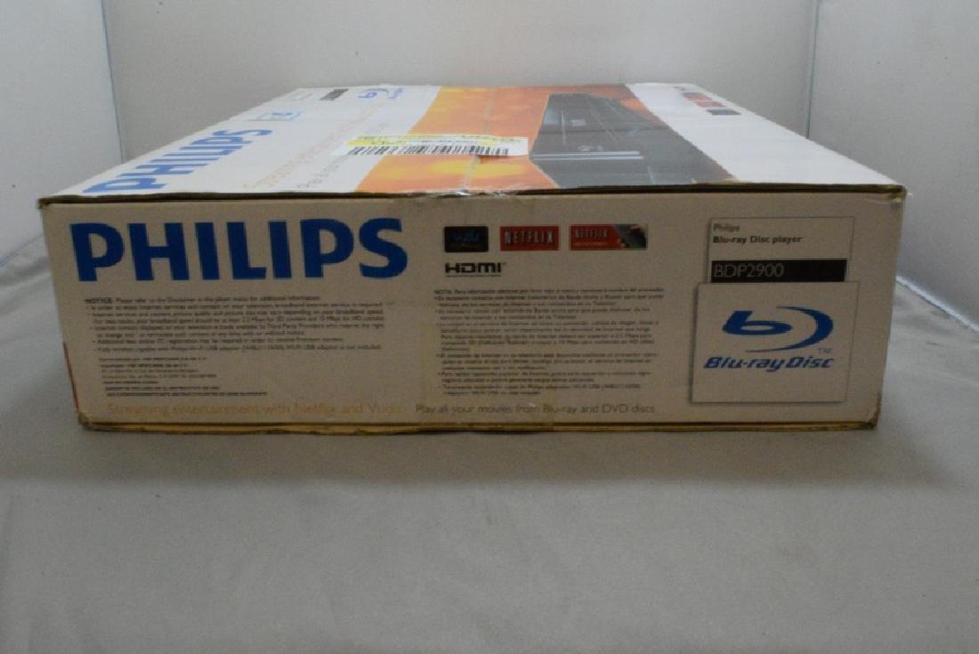 NIB PHILIPS BDP2900 BLU-RAY DISC PLAYER - 4