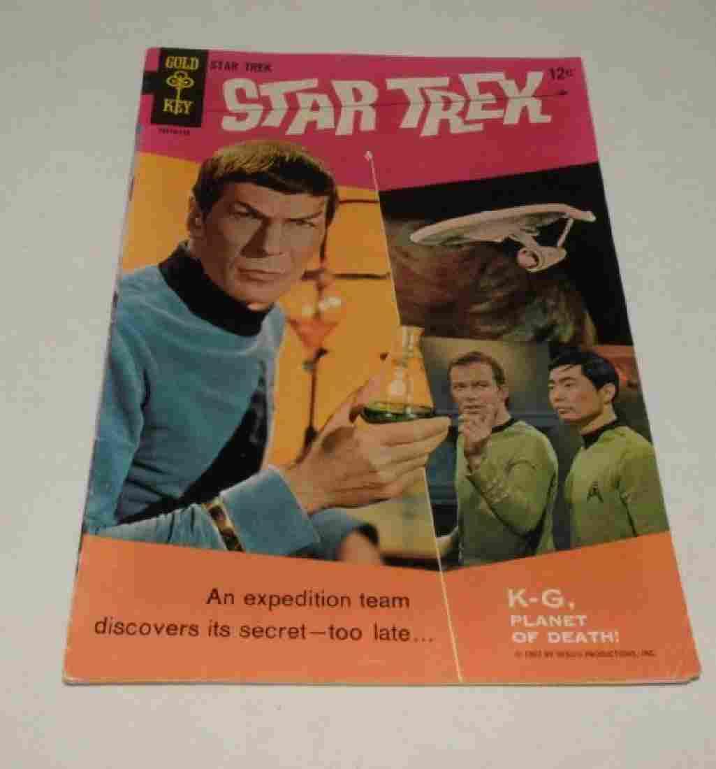 1967 GOLD KEY STAR TREK NO. 1