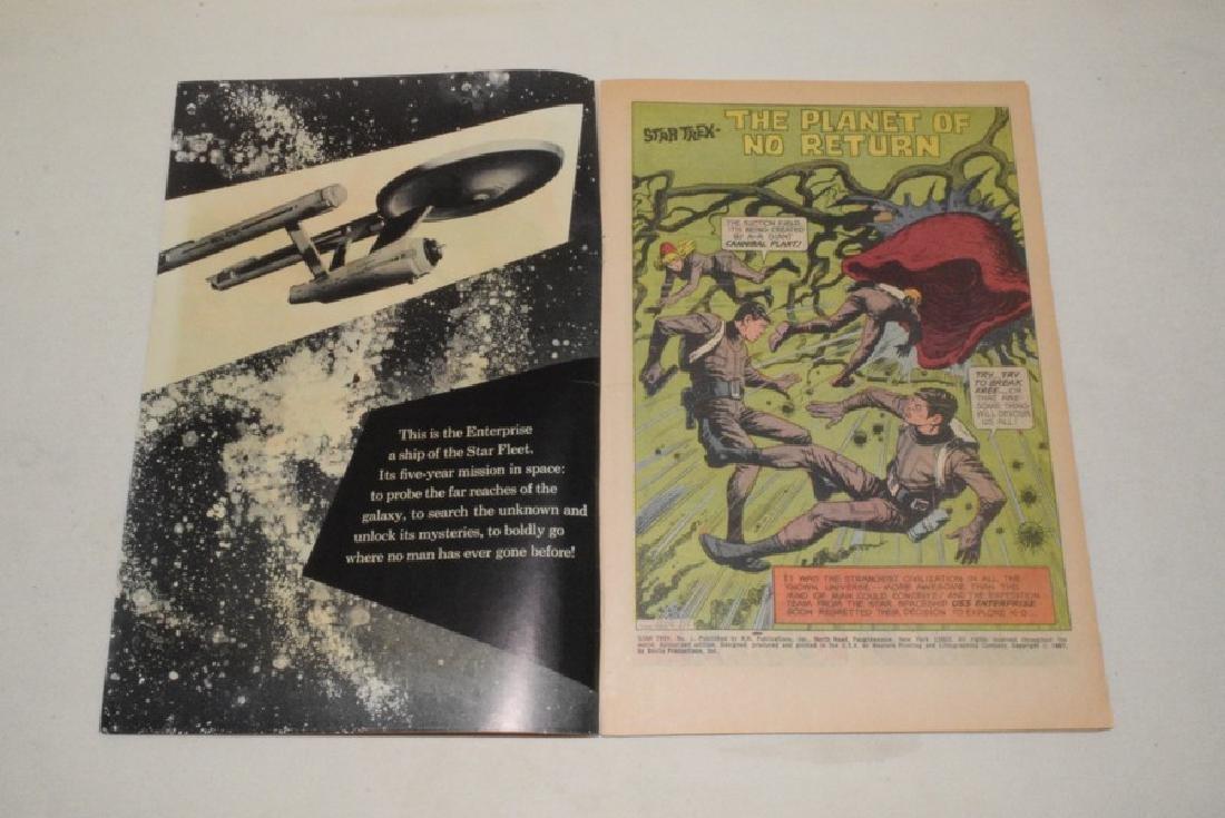 1967 GOLD KEY STAR TREK NO. 1 - 3