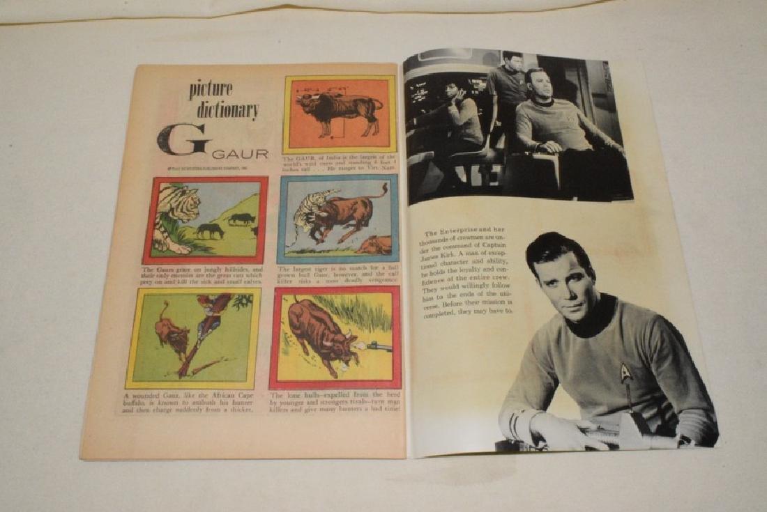 1967 GOLD KEY STAR TREK NO. 1 - 6