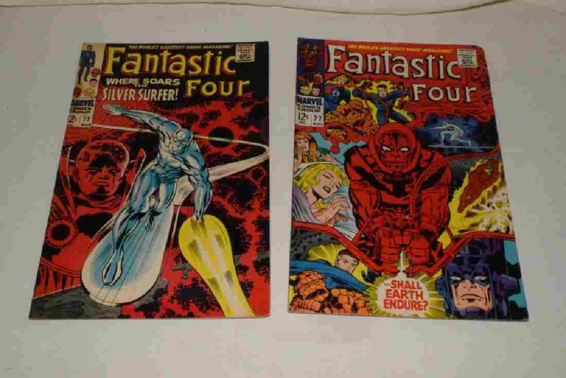1968 FANTASTIC FOUR NO 72 & NO 77