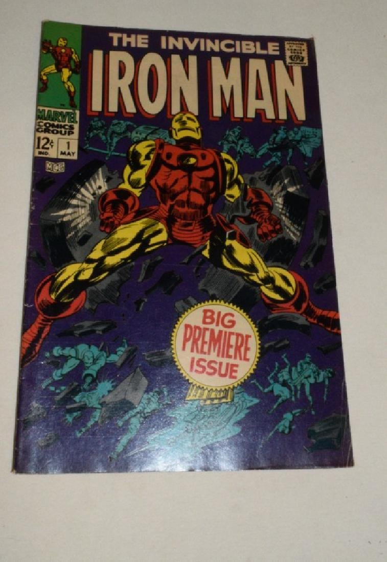 NO 1 MAY 1968 THE INVINCIBLE IRON MAN