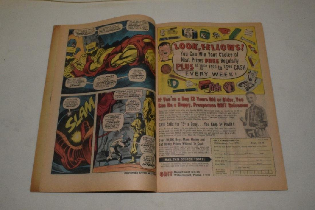 NO 1 MAY 1968 THE INVINCIBLE IRON MAN - 4