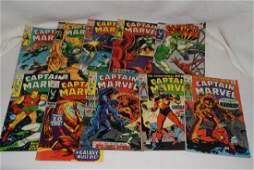 1969 ISSUES 918 MARVEL COMICS CAPTAIN MARVEL