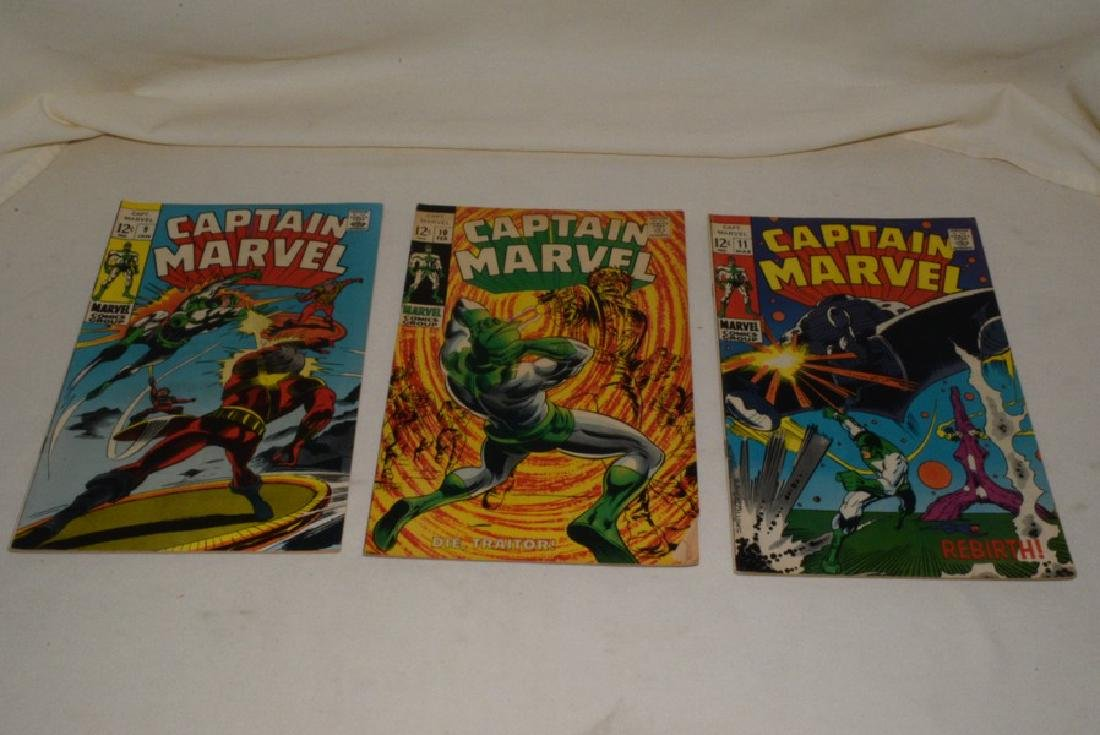 1969 ISSUES 9-18 MARVEL COMICS CAPTAIN MARVEL - 2