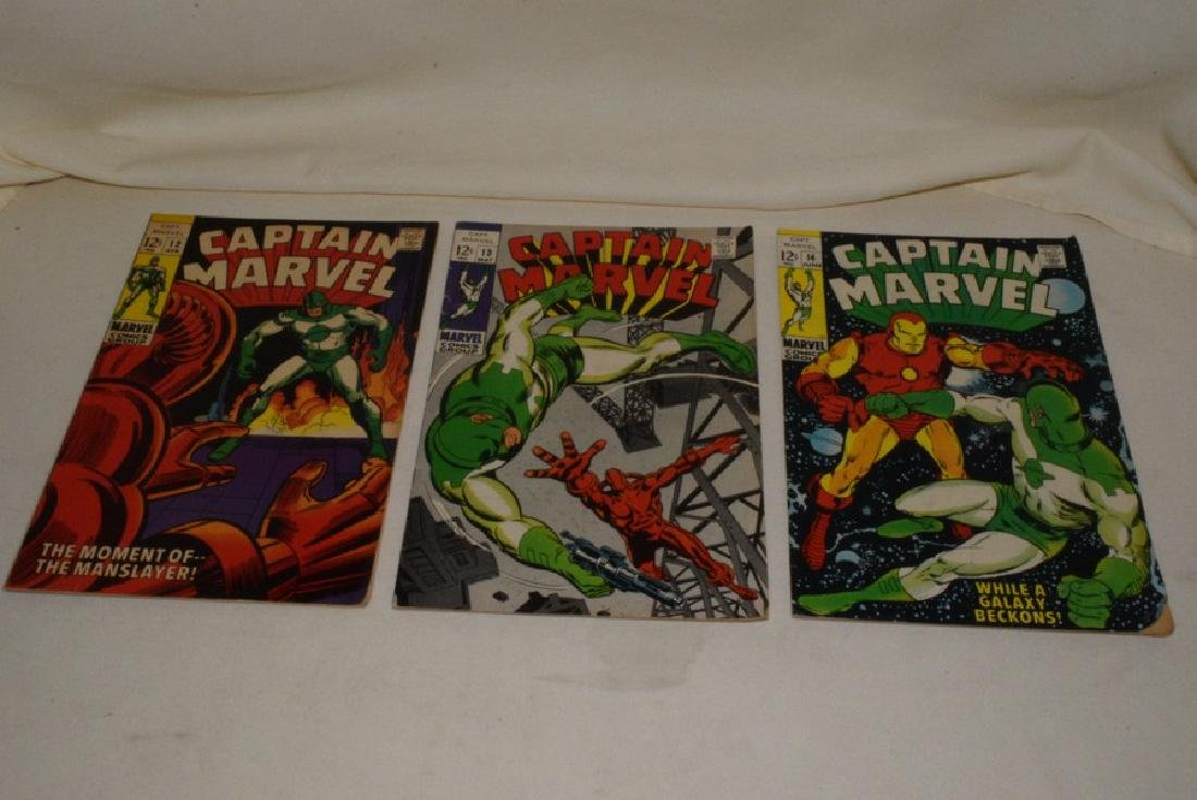 1969 ISSUES 9-18 MARVEL COMICS CAPTAIN MARVEL - 4