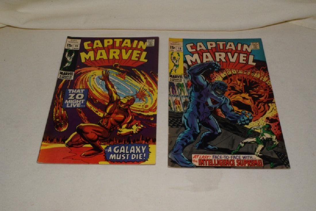1969 ISSUES 9-18 MARVEL COMICS CAPTAIN MARVEL - 6