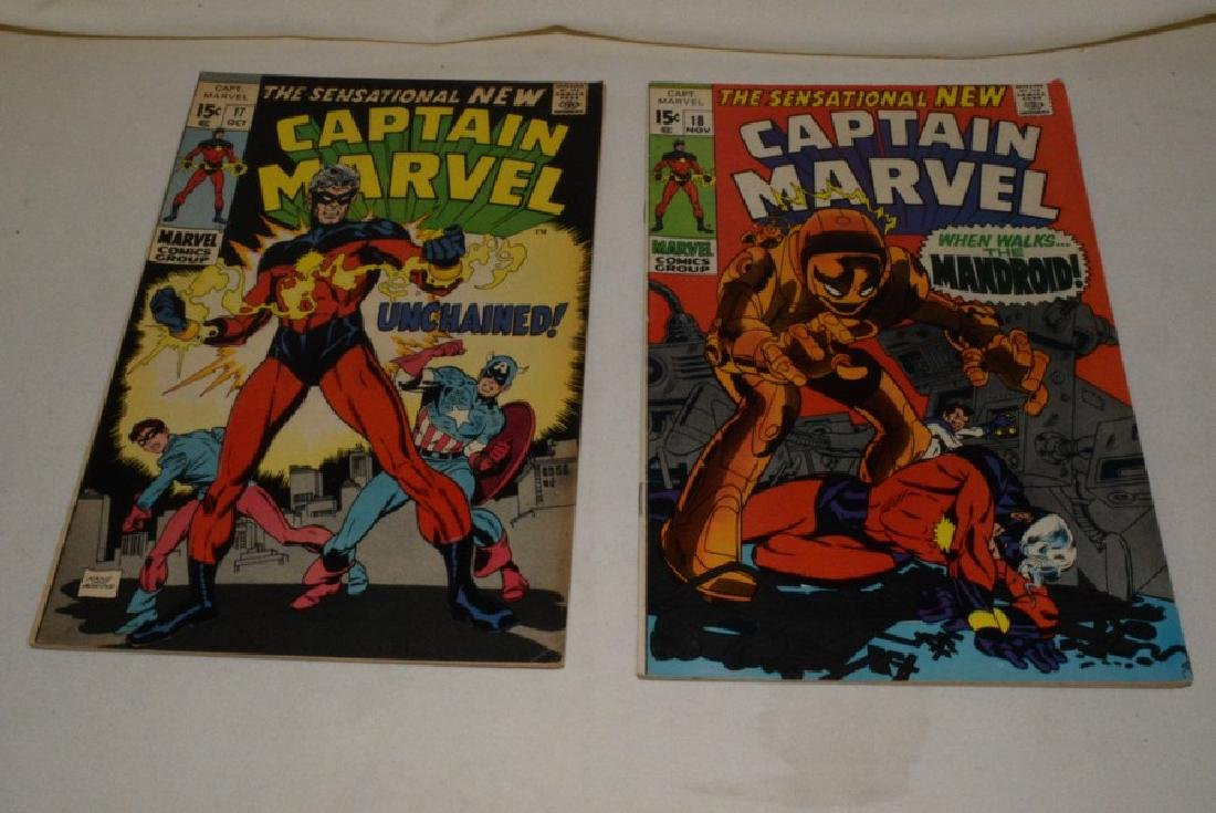 1969 ISSUES 9-18 MARVEL COMICS CAPTAIN MARVEL - 7
