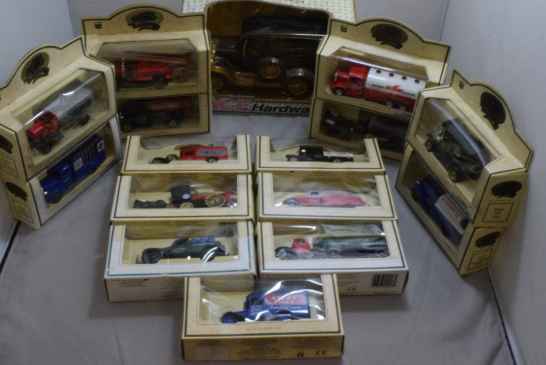 15 CHEVRON COMMEMORATIVE CARS - MADE IN ENGLAND -