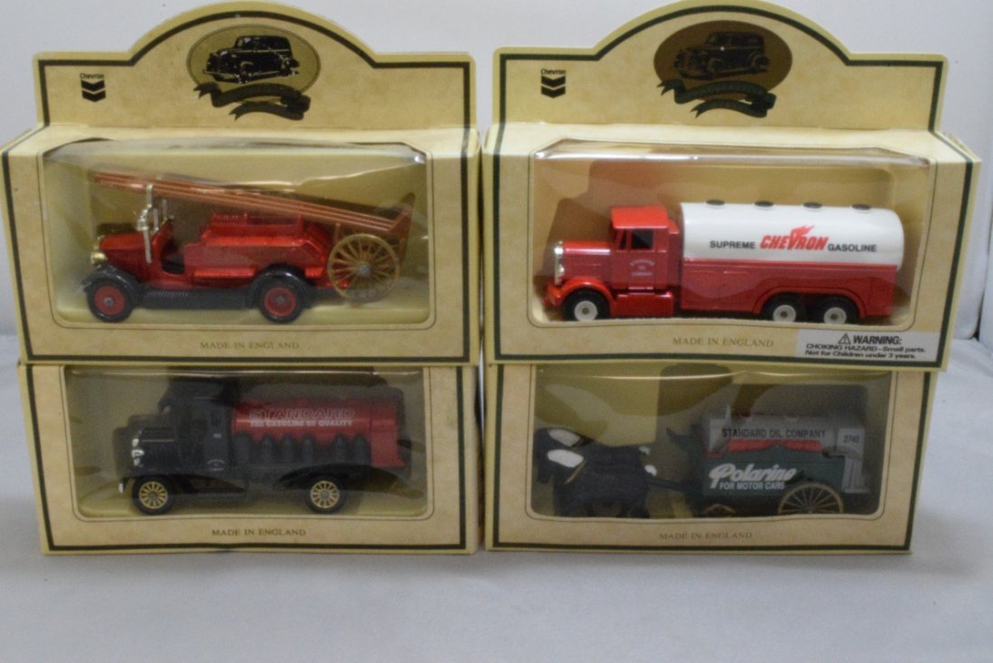 15 CHEVRON COMMEMORATIVE CARS - MADE IN ENGLAND - - 2
