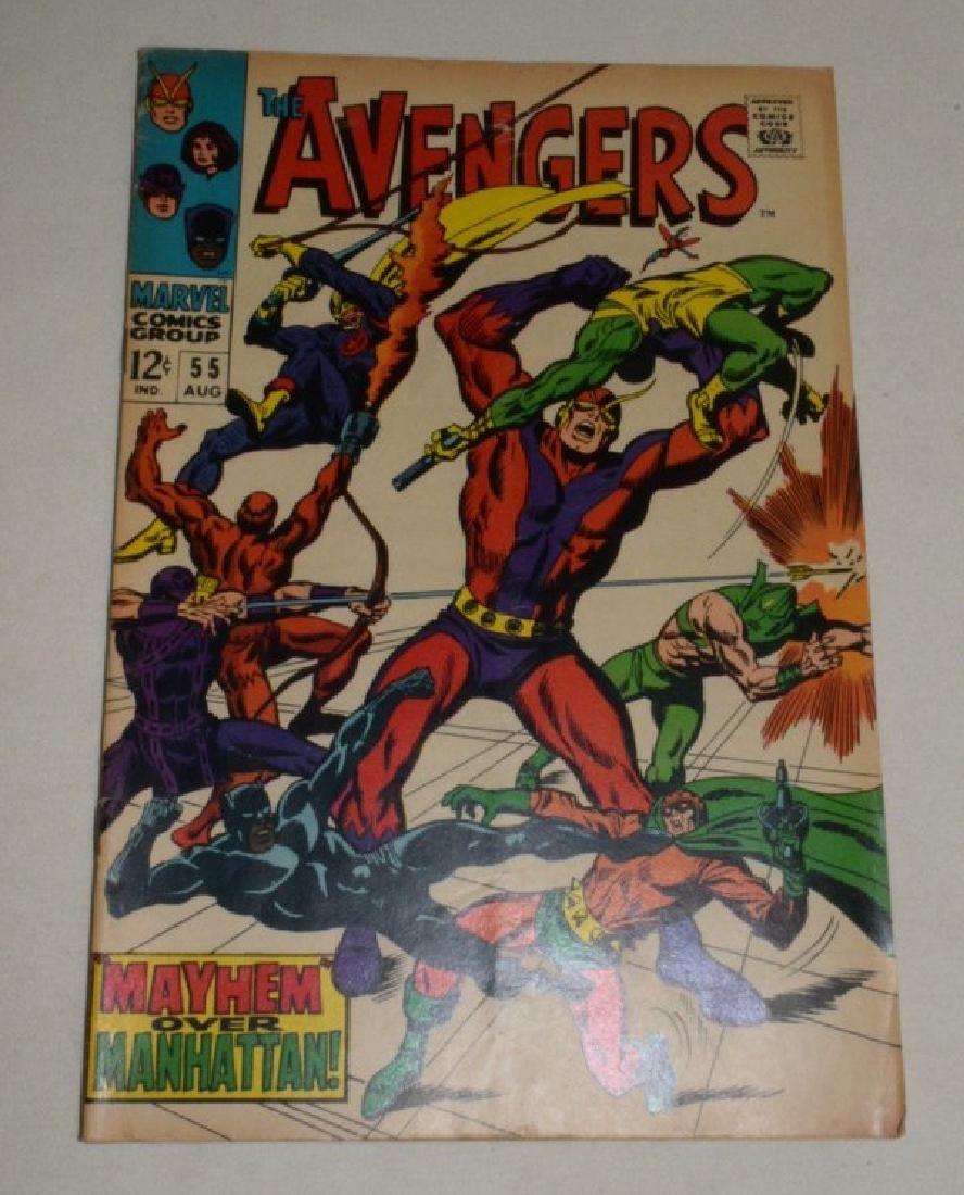 THE AVENGERS AUG 1968 #55