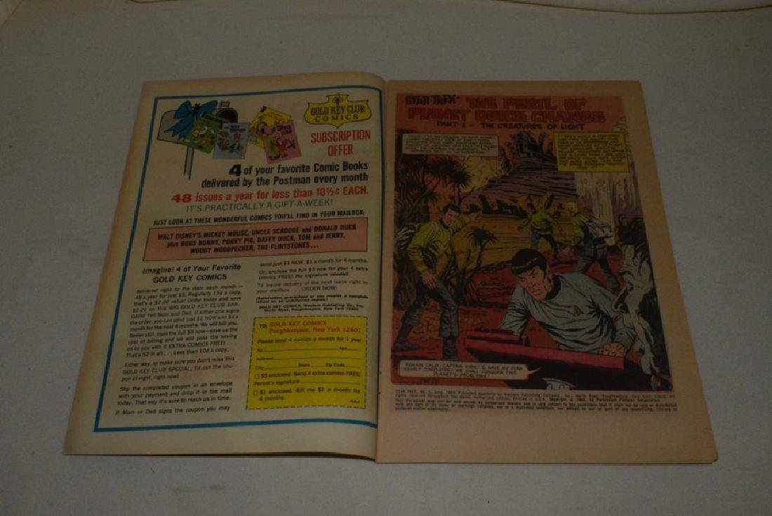 3 1960'S GOLD KEY STAR TREK COMICS - 3