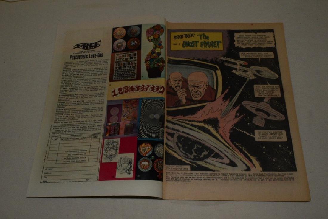 3 1960'S GOLD KEY STAR TREK COMICS - 7
