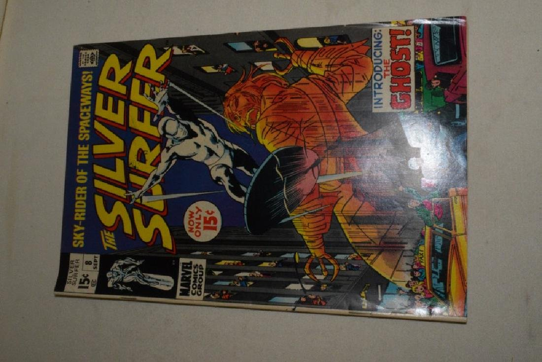 2 SILVER SURFER COMIC BOOKS BY MARVEL - 2