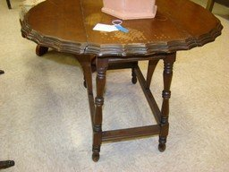 VINTAGE COFFEE TABLE AND DROP SIDE END TABLE - 2