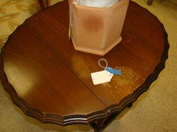 VINTAGE COFFEE TABLE AND DROP SIDE END TABLE - 3