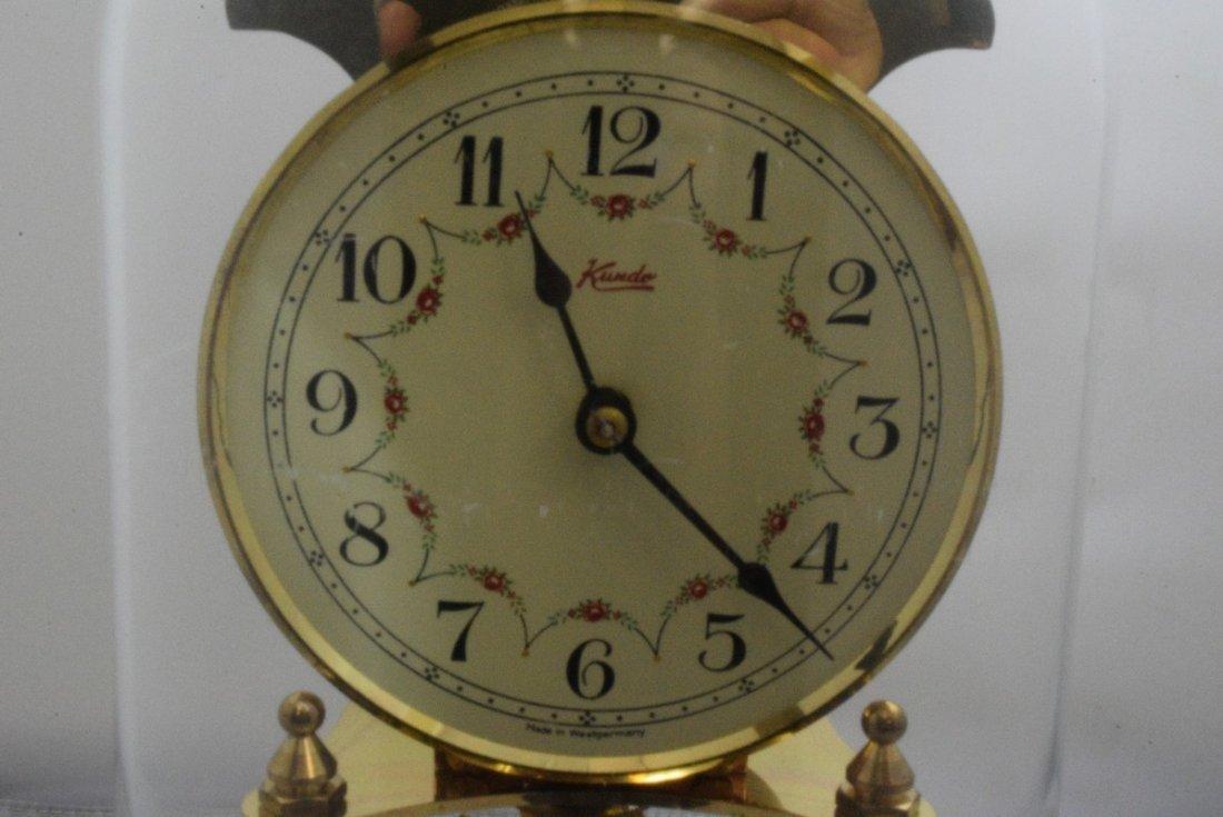 KUNDO WEST GERMAN ANNIVERSARY CLOCK - UNTESTED - P - 2
