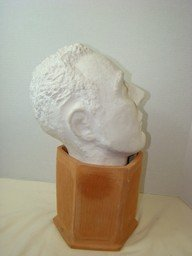 LARGE PORTRAIT HEAD SCULPTURE - 5