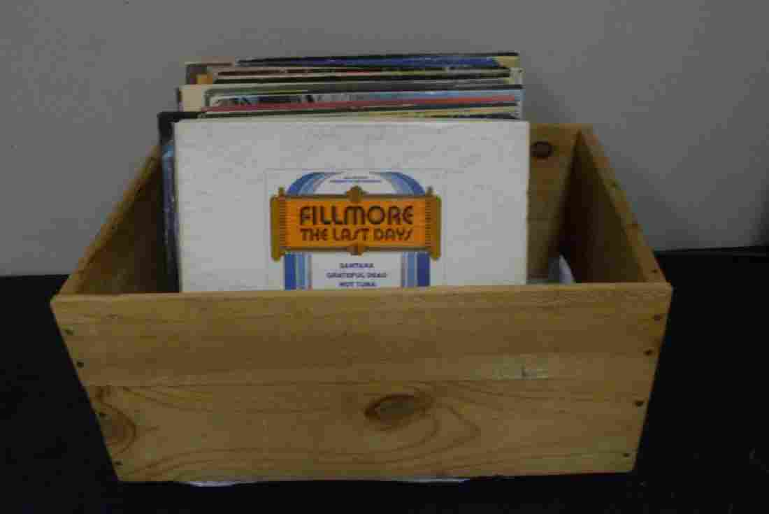 VARIOUS VINTAGE ROCK, POP AND OTHER 33 RPM RECORD