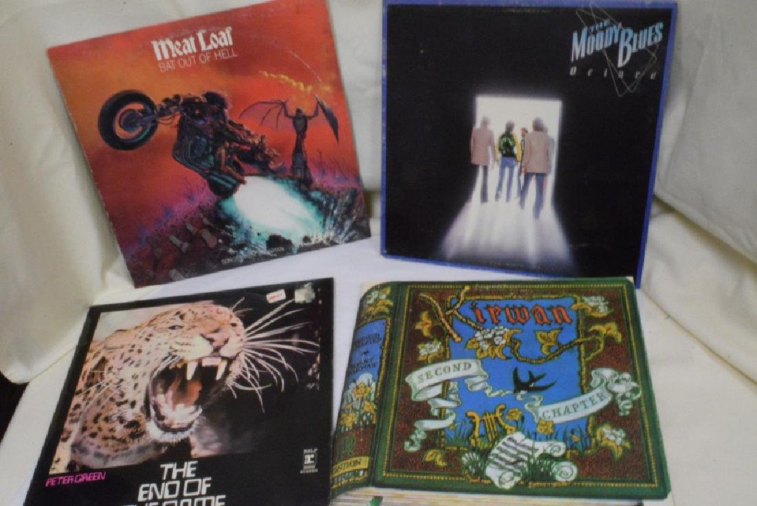 VARIOUS VINTAGE ROCK, POP AND OTHER 33 RPM RECORD - 2
