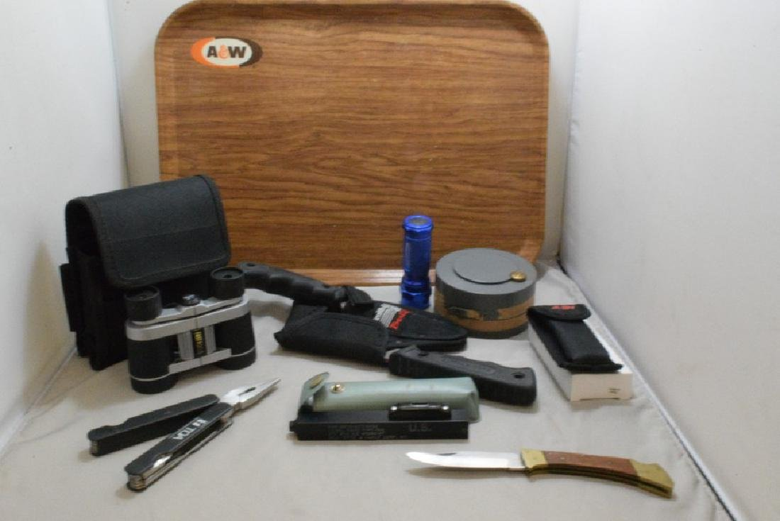 VARIOUS CAMPING/HUNTING ITEMS - MILITARY LEVEL - S
