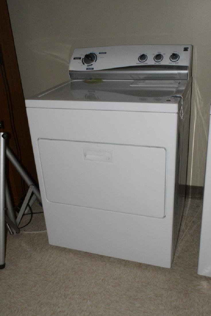KENMORE WHITE CLOTHES DRYER