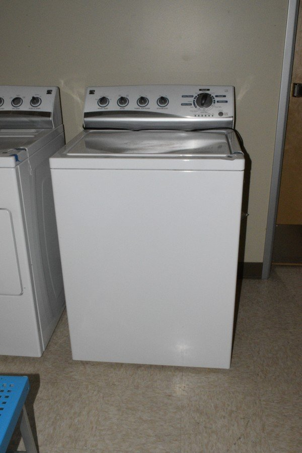 KENMORE WHITE HIGH EFFICIENCY WASHER - NOT TESTED