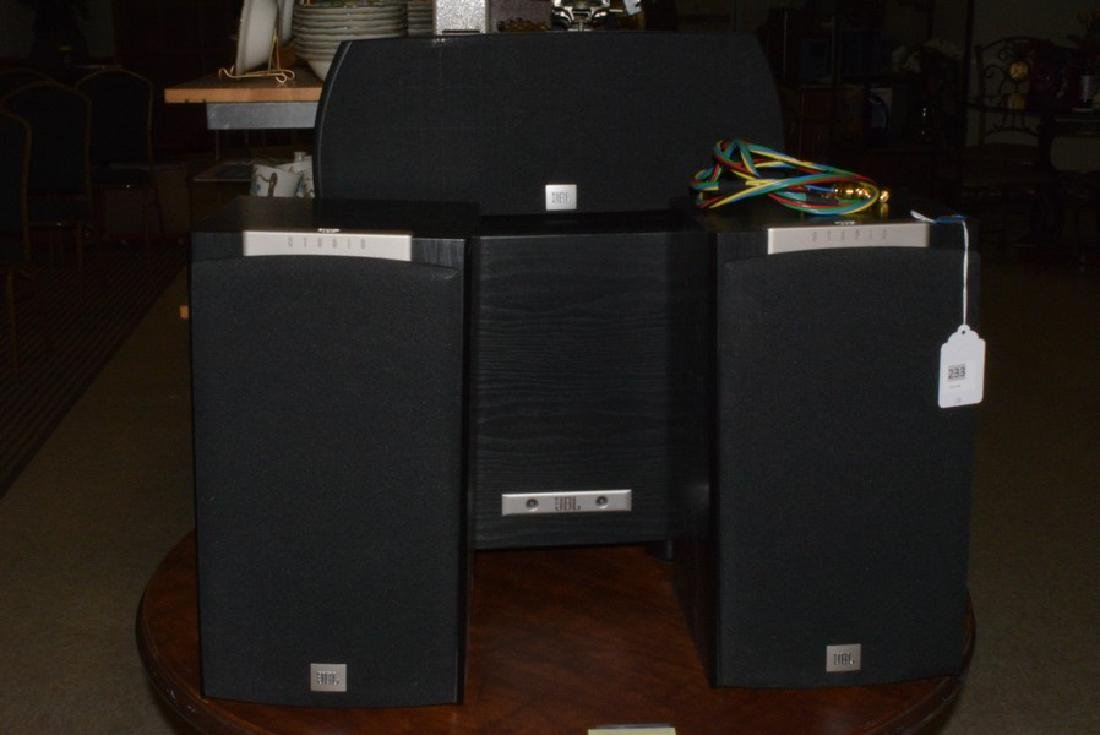 JBL STUDIO SURROUND SOUND SYSTEM - 6