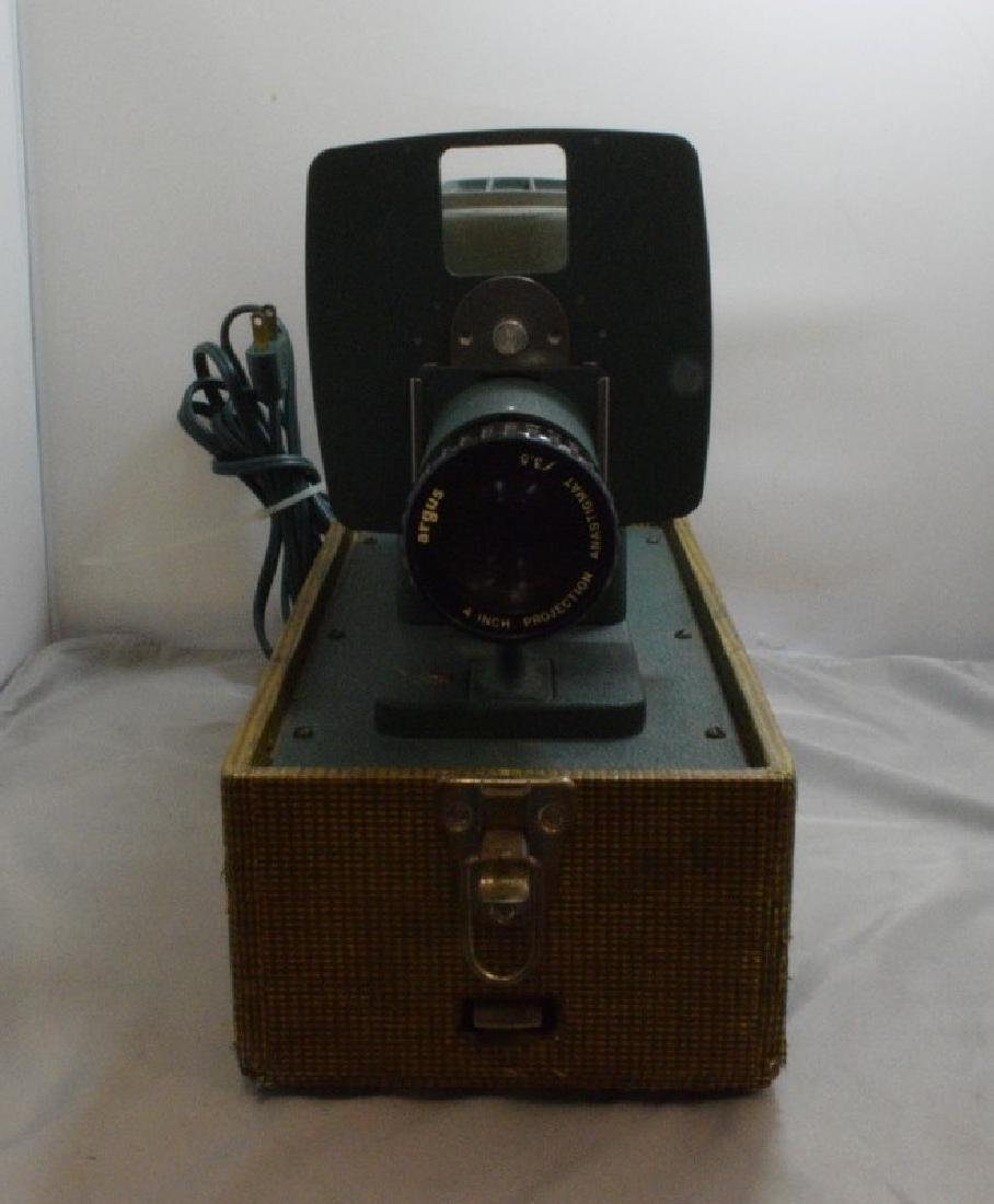 VINTAGE ARGUS 300 SLIDE PROJECTOR - HARD CASE - WO - 2