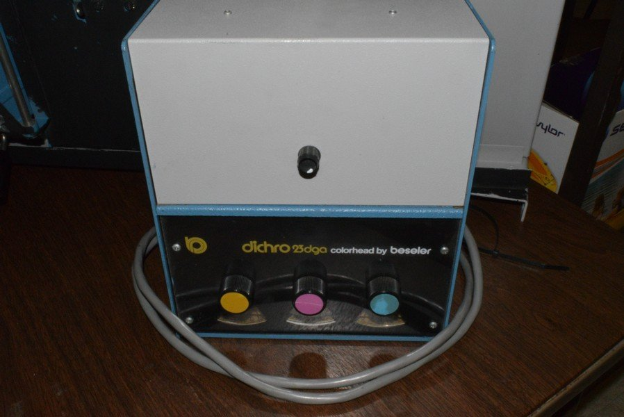 COLOR PHOTO ENLARGER - NO BRAND NAME AND A DICHRO - 3