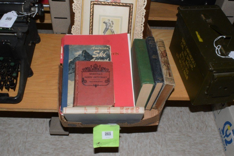 VINTAGE BOOKS - FRAMED PHOTOS AND MORE