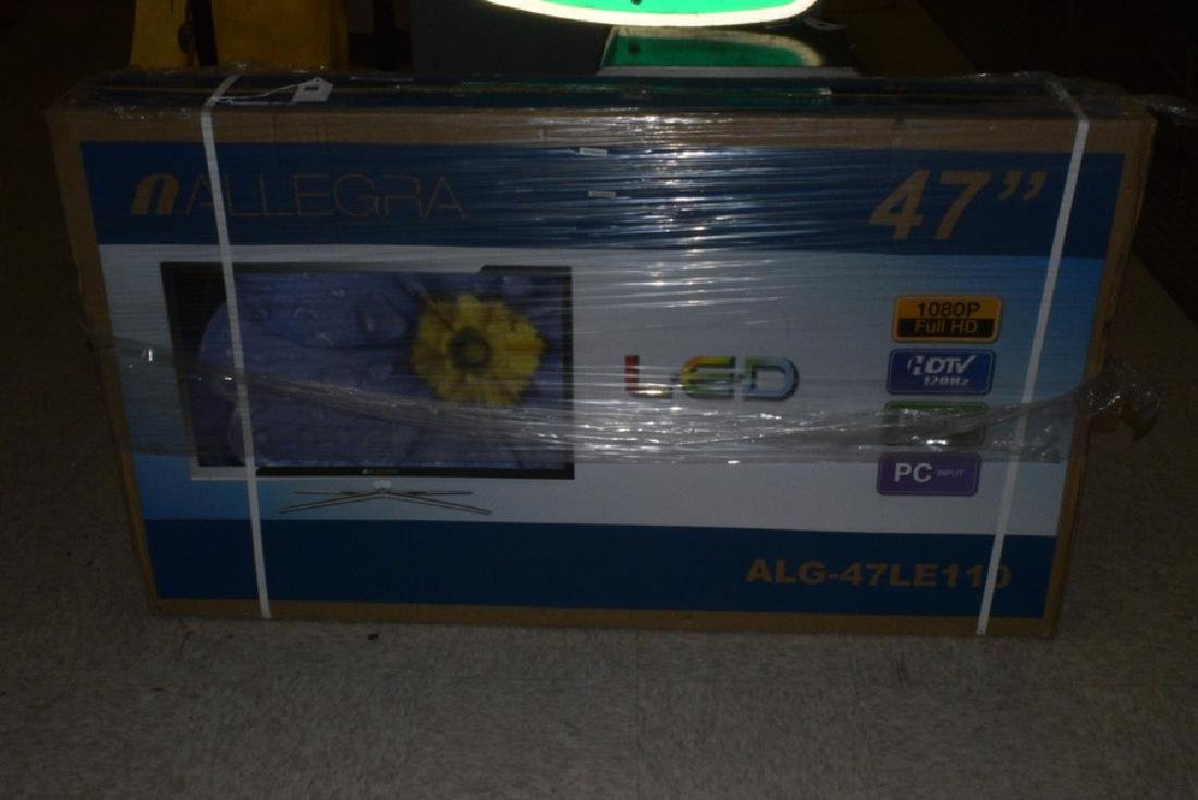 NIB ALLEGRA LED COLOR TV - #ALG47LE110 - STILL IBN