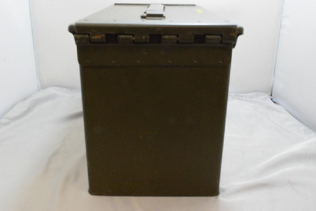 MILITARY AMMO BOX - 1200 CARTRIDGES CAL .38 SPECIAL - 4