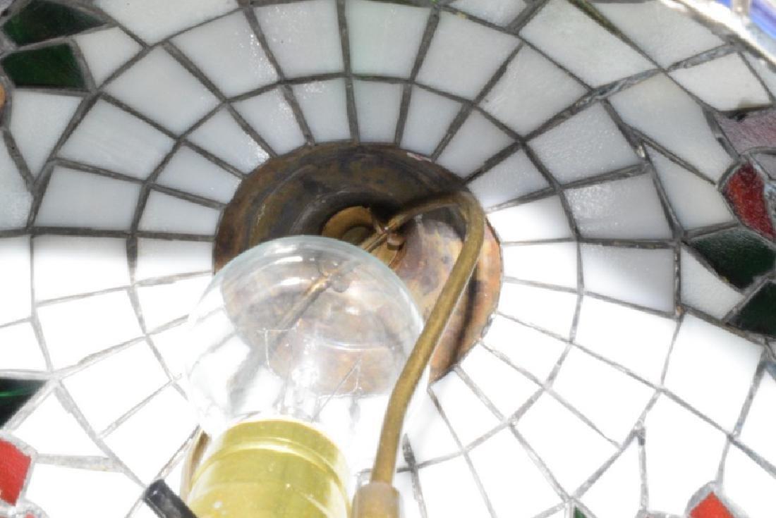 21.5'' TABLE LAMP - CAST METAL BASE - FAUX LEAD GL - 3