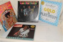 5 VINTAGE ROCK AND OTHER 33 RPM RECORD ALBUMS  2