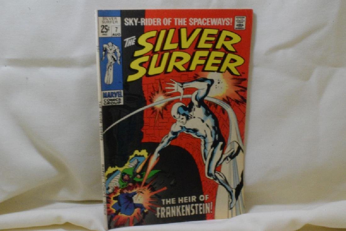 1969 THE SILVER SURFER ISSUE 7